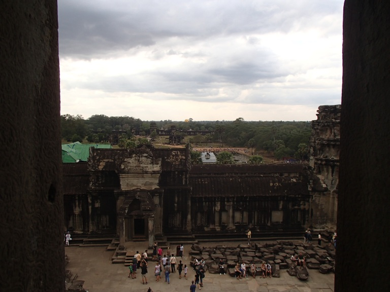 The view from the top - Angkor Wat