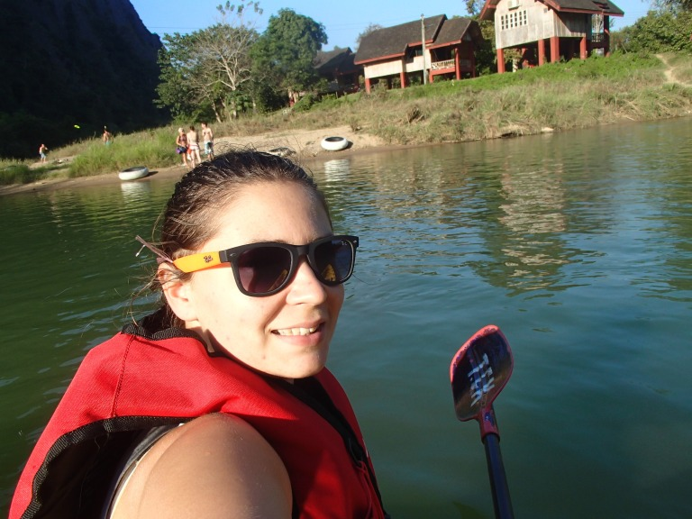 Kayaking - Laos