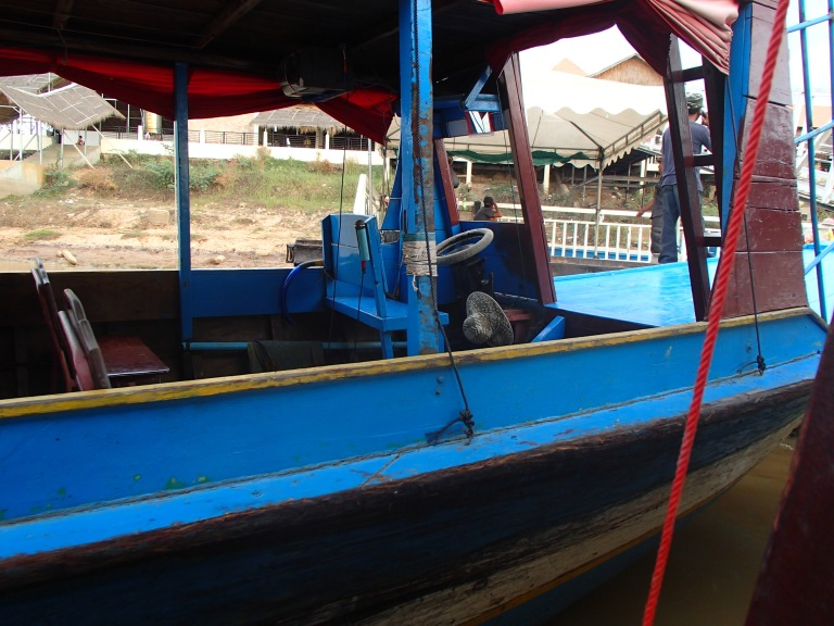 Boat to Tonle Sap