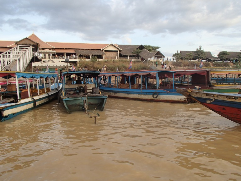 Boats to Tonle Sap